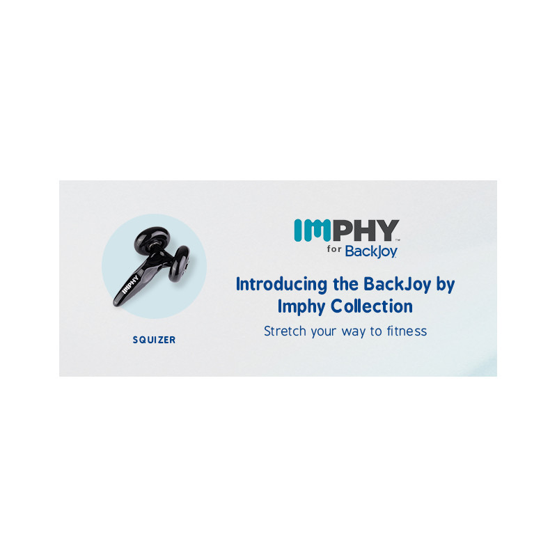 How to Use the Imphy for BackJoy Squizer hand-held rotating massager
